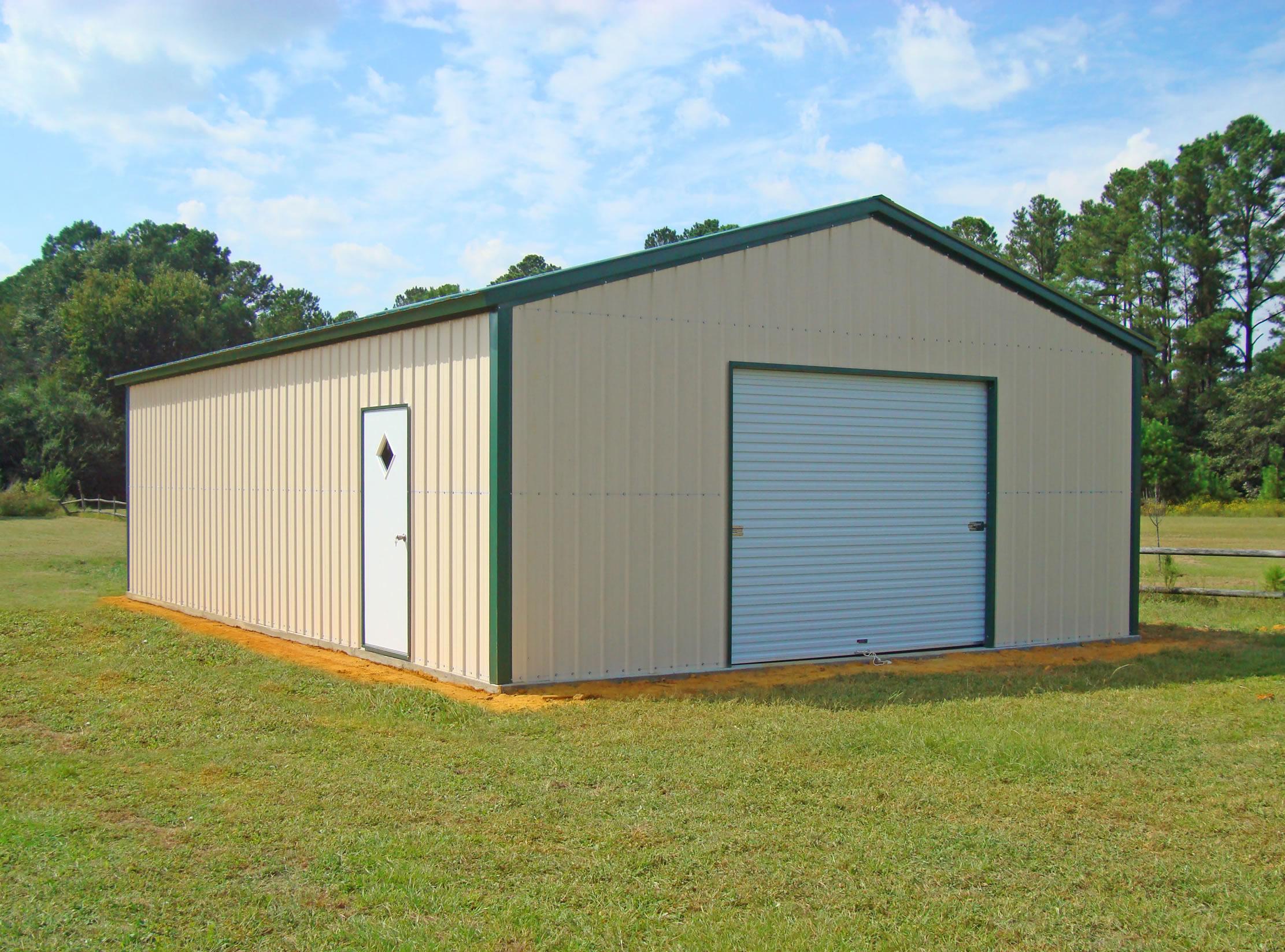 Garages metal garage2 jpg for Rv garage cost